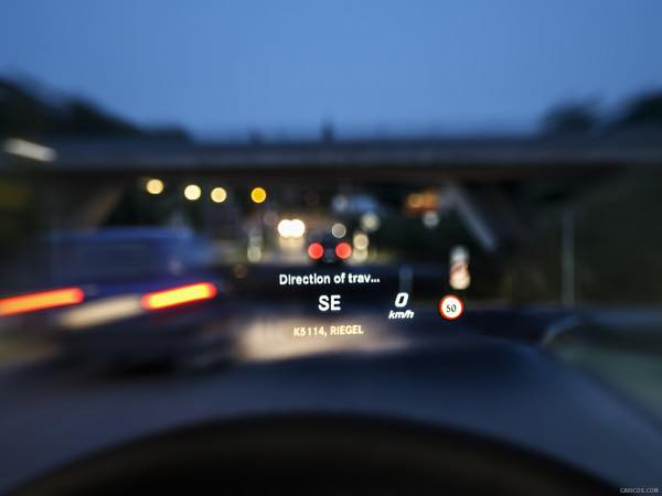 Glc phv for Mercedes benz heads up display